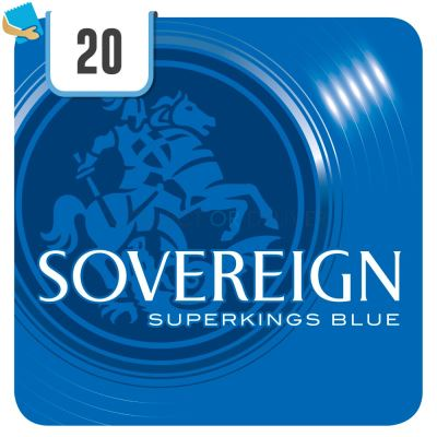 Sovereign Superkings Blue 20 Cigarettes