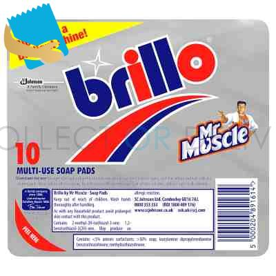 Brillo Multi-Use Soap Pads 10 Pads