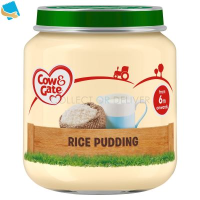 Cow & Gate Rice Pudding Jar 125G