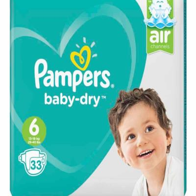 Pampers Size 6