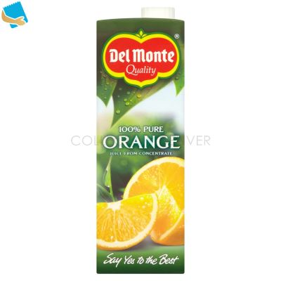 Del Monte 100% Pure Orange Juice From Concentrate 1 Litre