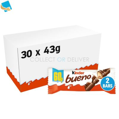 Kinder Bueno Chocolate Milk Chocolate And Hazelnuts 43G