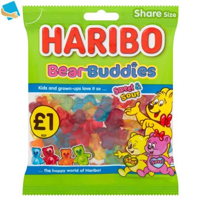 HARIBO Bear Buddies Bag 160G PM