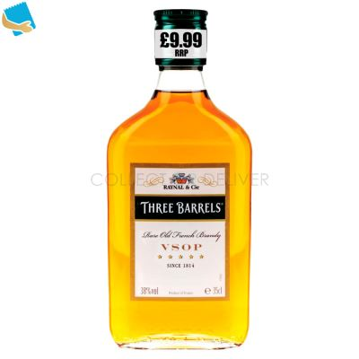 Three Barrels Rare Old French Brandy VSOP 35Cl