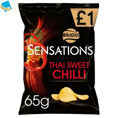 Sensations Thai Sweet Chilli Crisps 65G