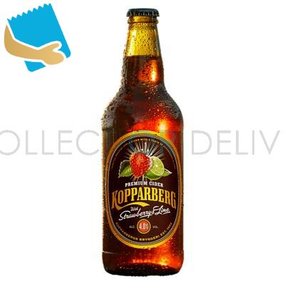 Kopparberg Premium Cider Strawberry & Lime 500Ml