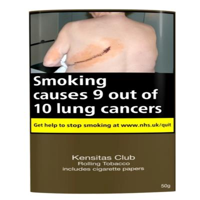 Kensitas Club Rolling Tobacco 50G