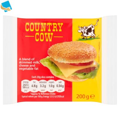 Country Cow Processed Cheese 200g