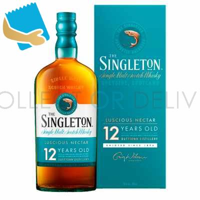 The Singleton Of Dufftown 12 Year Old Single Malt Scotch Whisky 70Cl