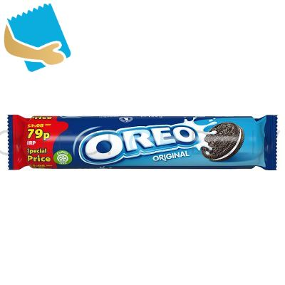 Oreo Original Sandwich Biscuits 154G