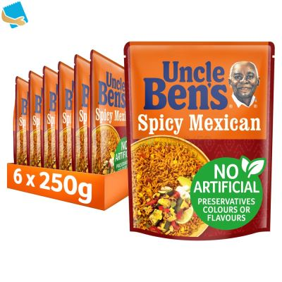 Uncle Bens Spicy Mexican Microwave Rice 250g