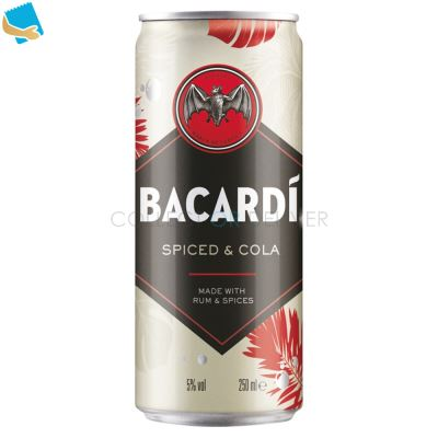 Bacardi Spiced & Cola 250Ml