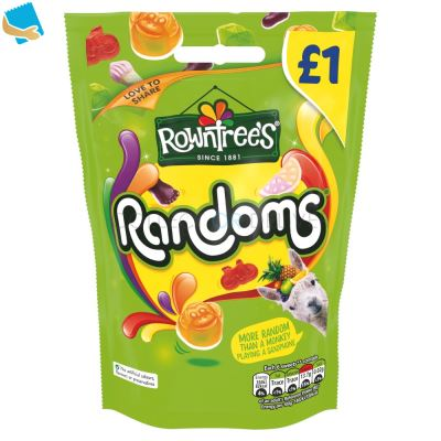 Rowntree's Randoms Sweets Sharing Pouch 120G