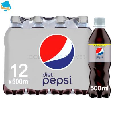 Pepsi Diet Cola 12 X 500Ml