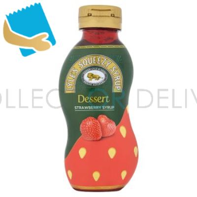 Tate & Lyle Squeezy Syrup Strawberry Syrup 325g
