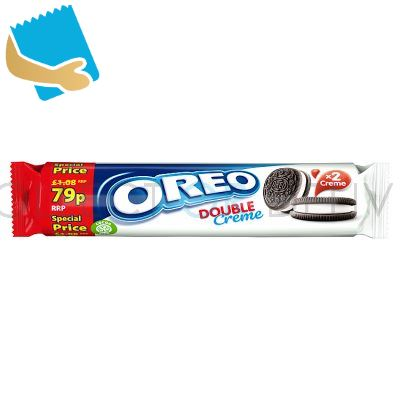 Oreo Double Creme Sandwich Biscuit 157g