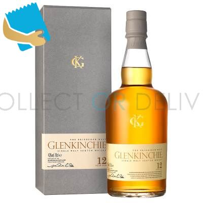 Glenkinchie 12 Years Old Single Malt Scotch Whisky 70Cl