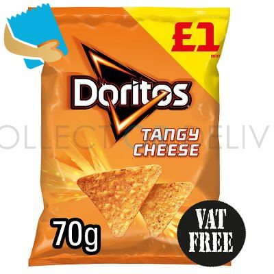 Doritos Tangy Cheese Tortilla Chips 70G
