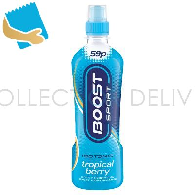 Boost Sport Isotonic Tropical Berry 500Ml