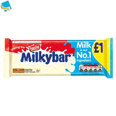 Milkybar White Chocolate Sharing Bar 90G
