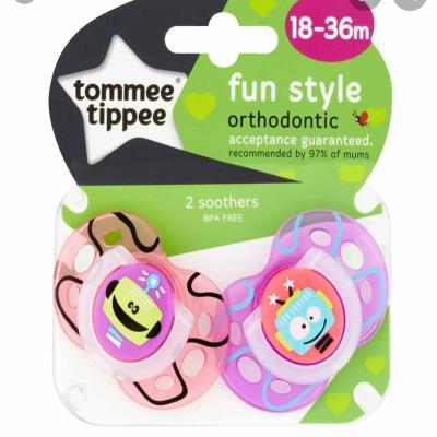 Tommeetippee 18-36M Fun Soother 2 Pack