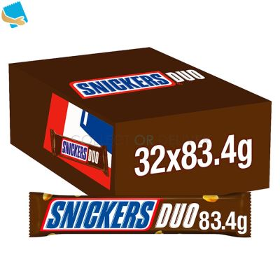 Snickers Chocolate Duo Bar 83.4G