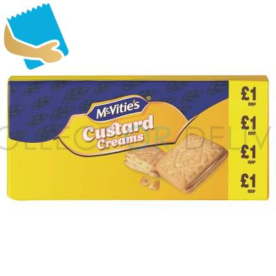 Mcvitie's Custard Cream Biscuits 300G