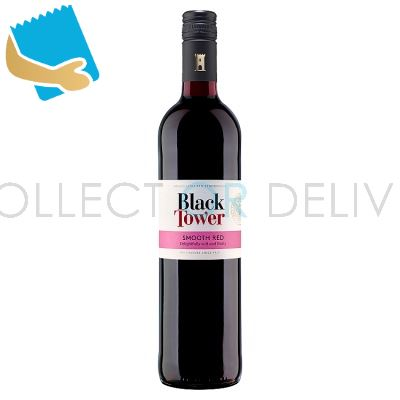 Black Tower Smooth Red Wine 75cl