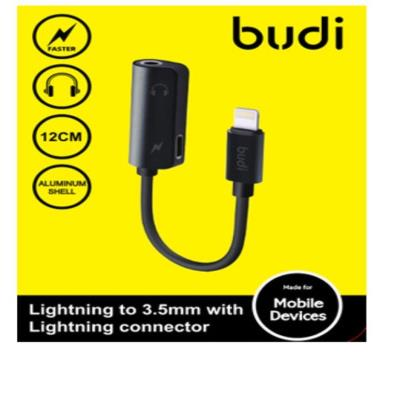 Budi Lightning to 3.5mm With Lightning Connector