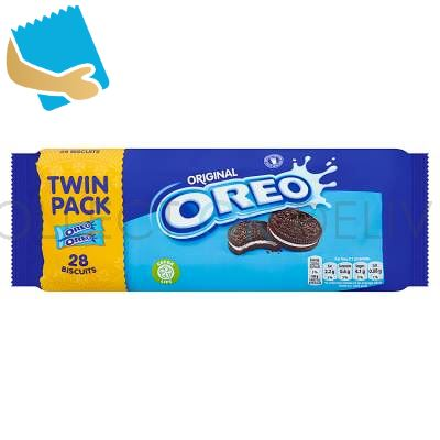 Oreo Chocolate Sandwich Biscuit 2 Pack 308G