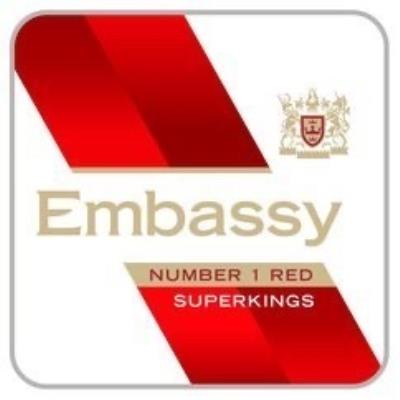 Embassy Number 1 Red Superkings 20