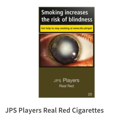 JPS Players red king size