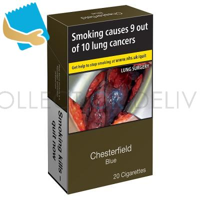 Chesterfield Blue 20 Cigarettes