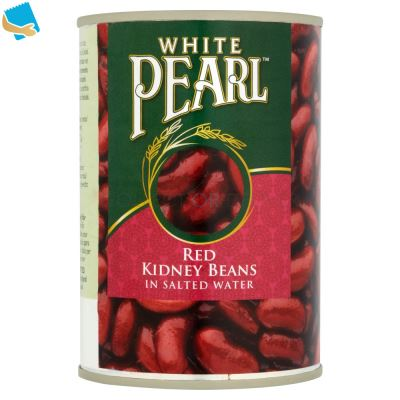White Pearl Red Kidney Beans In Salted Water 400G