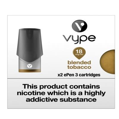 Vype Blended Tobacco 18Mg