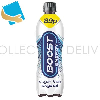 Boost Energy Sugar Free Original 500Ml