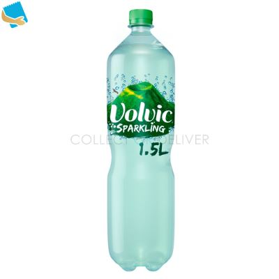Volvic Sparkling Carbonated Natural Mineral Water 1.5L