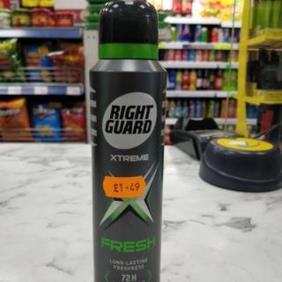 Right Guard Extreme Fresh