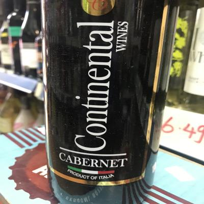 Continental Wines Cabernet