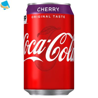 Coca-Cola Original Taste Cherry 330Ml Can