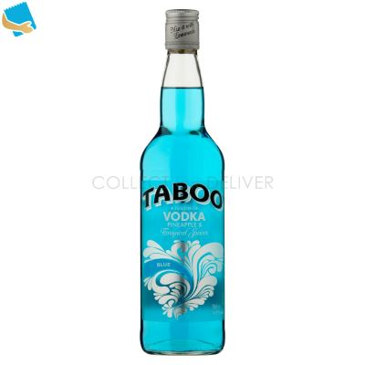 Taboo A Fusion Of Vodka Pineapple & Tropical Juices Blue 70Cl
