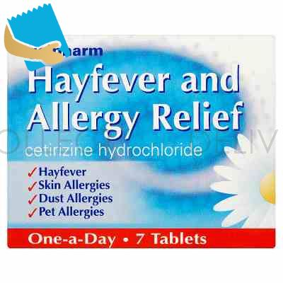 Galpharm Hayfever and Allergy Relief 7 Tablets