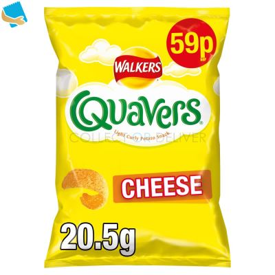 Walkers Quavers Cheese Snacks 20.5G
