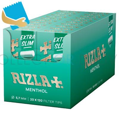 Rizla Menthol Ultra Slim Filter Tips 120S