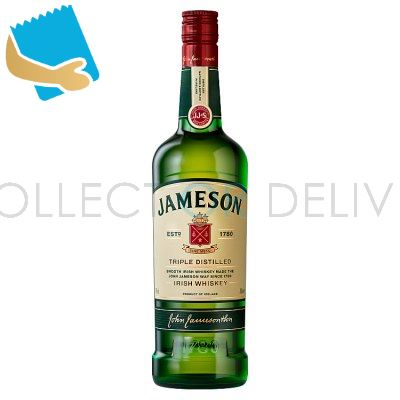 Jameson Triple Distilled Irish Whiskey 700Ml